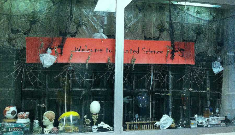 Haunted Science Lab