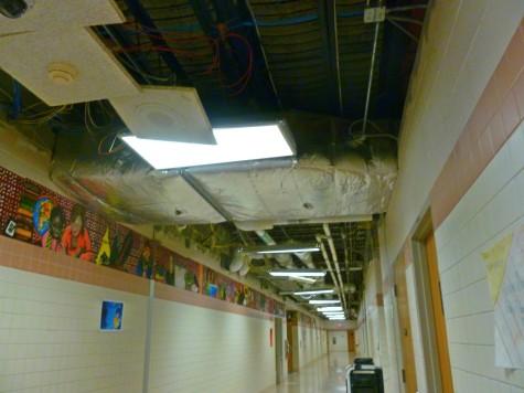High School Renovations Start