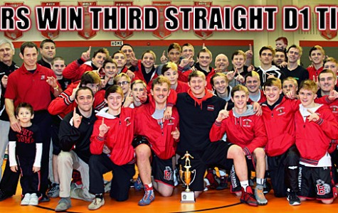 Wrestling Wins 3rd Consecutive District Title – Hungry for State Championship