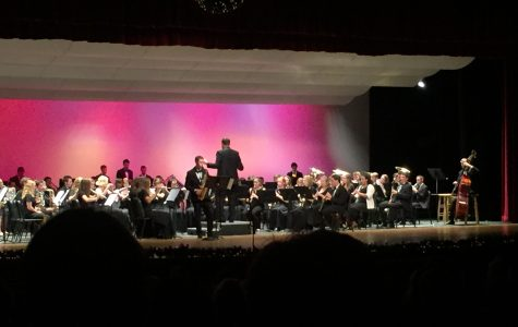 Band and Orchestra Break out Traditional Holiday Tunes at Winter Concert
