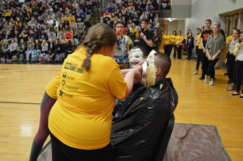 Teachers Get Creamed At This Year's Mini-THON Pep Rally