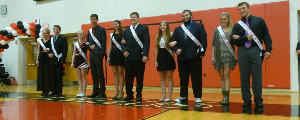 Danielle+Croner+and+Joe+Frick+Crowned+Homecoming+King+and+Queen