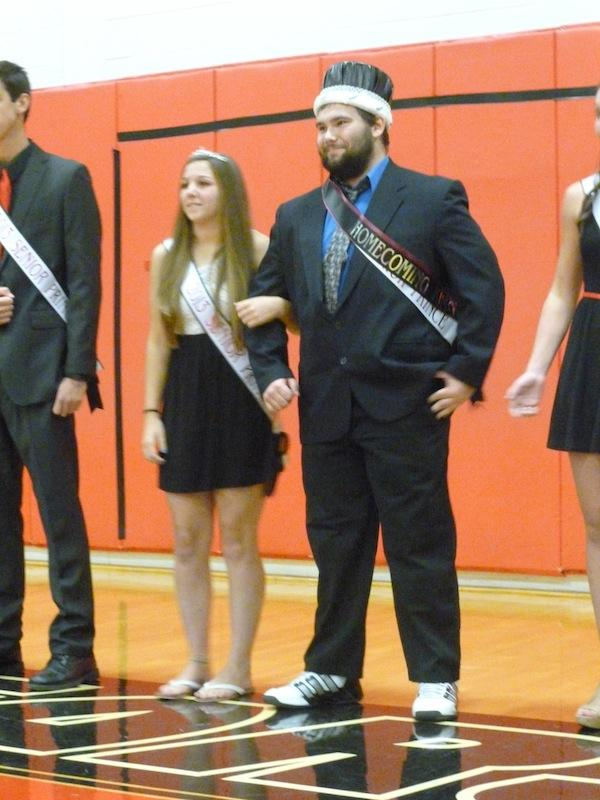 Joe Frick was announced as the Homecoming King at Friday's BASH pep rally. The Homecoming Queen will be announced at Friday night's football game versus Perkiomen Valley.