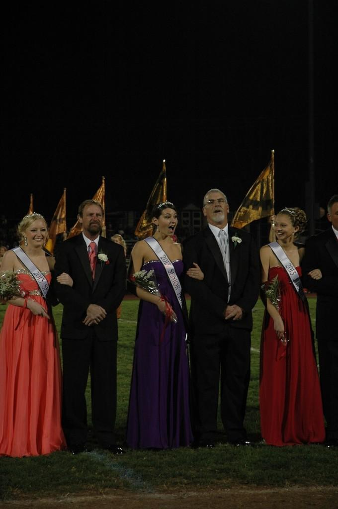Senior Princess Jenny Mahoney,