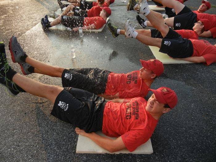 NJROTC Cadets Push Their Bodies and Support Navy Special Warfare