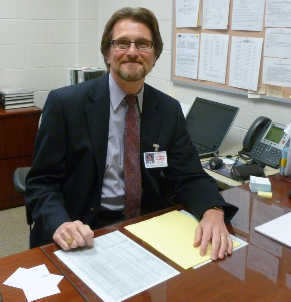Dr. Tom Shugar will temporarily serve as 10th Grade Assistant Principal