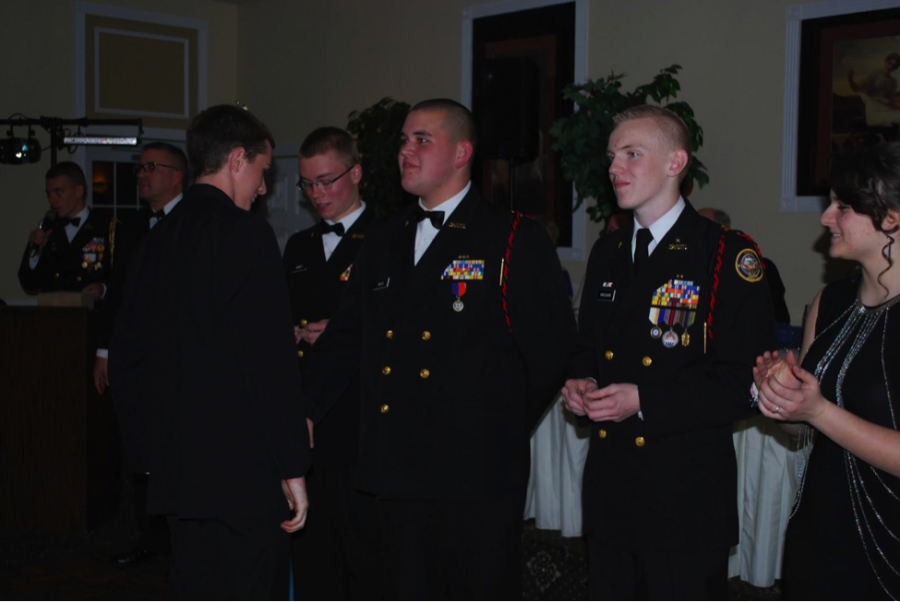Military Ball Break from Regimented Routine for Cadets