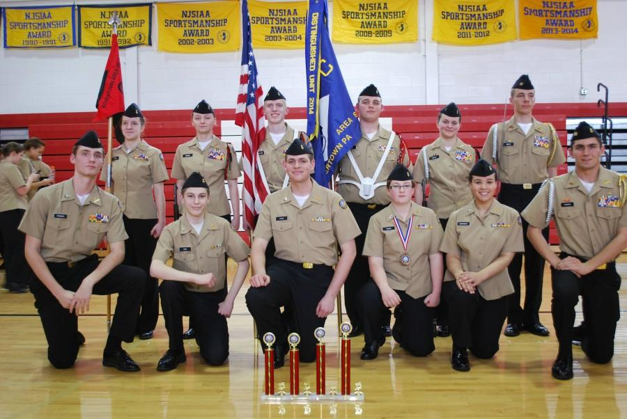 JROTC Cadets Compete in Drill Competition