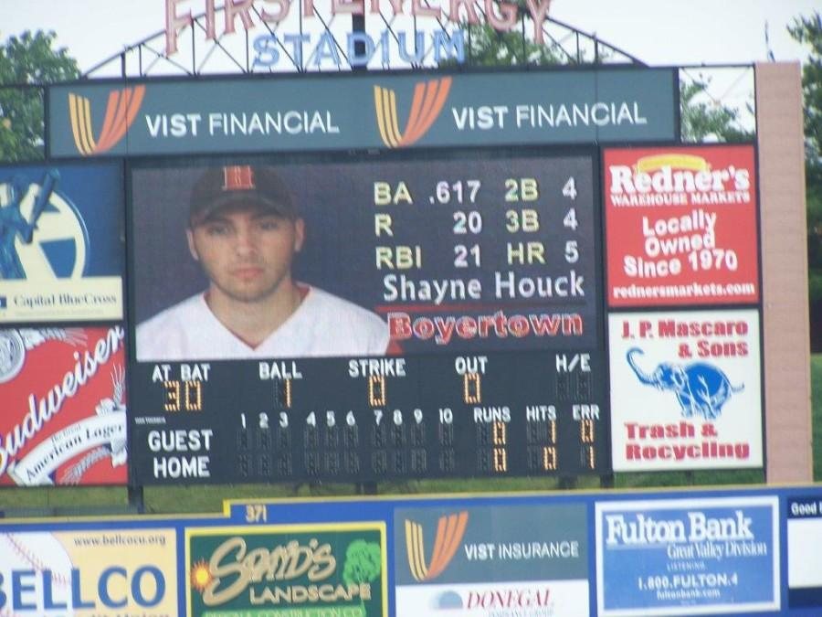 Shayne Houck, a 2008 BASH graduate, is now a successful minor league baseball player.