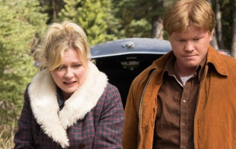 Kirsten Dunst as Peggy (left) and Jesse Plemons as Ed (right) in Fargo.