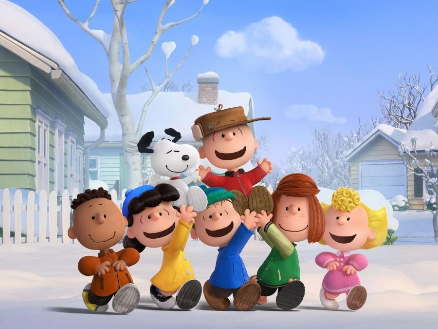 Franklin, Lucy, Linus, Peppermint Patty, Sally, Snoopy and Charlie Brown all appear in The Peanuts Movie.