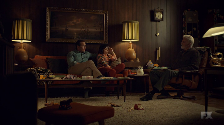 (From left to right) Lou, Betsy, and Hank in Fargo