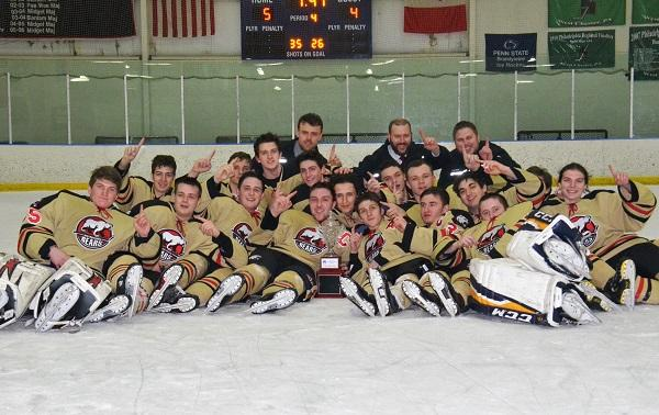 Ice Hockey Hungry for More After Winning Conference Championship