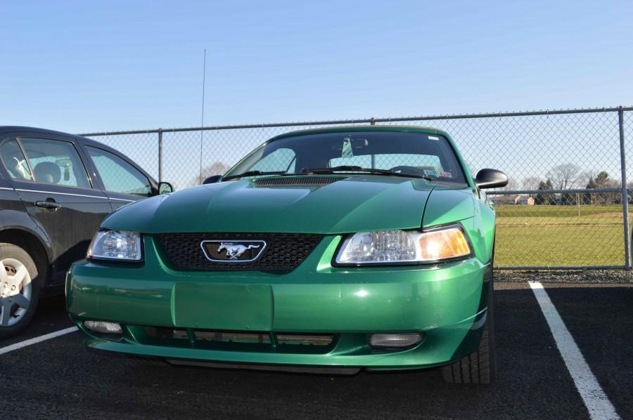 In The Lot: Senior Revitalizes 1999 GT Convertible into Dream Car.