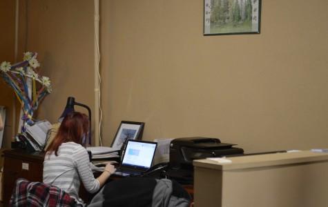 Senior Jennifer Reiff interns every afternoon at Building a Better Boyertown.