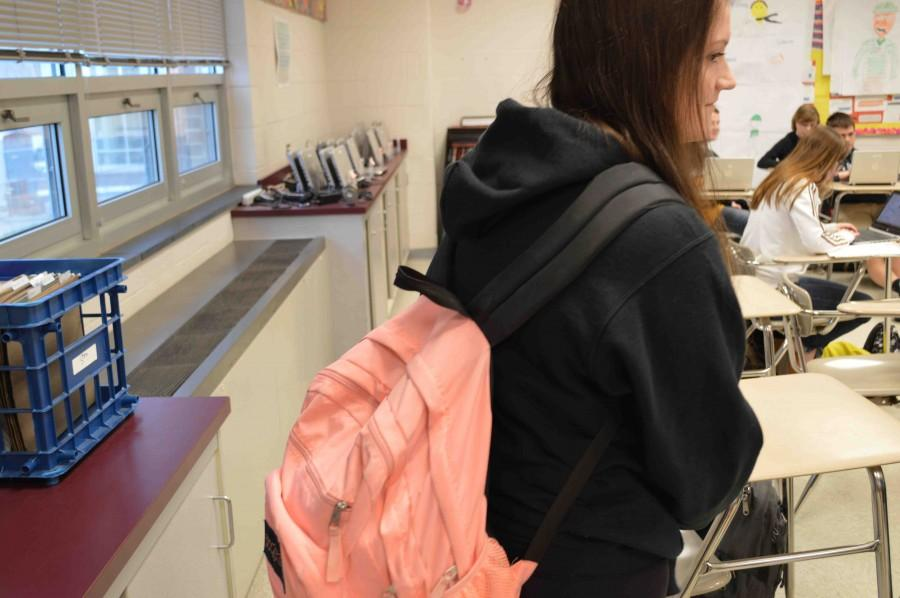 Backpack Issues Weigh on Students
