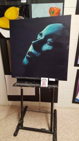 An award-winning piece at Art Expo created by Junior Brittany Spicer