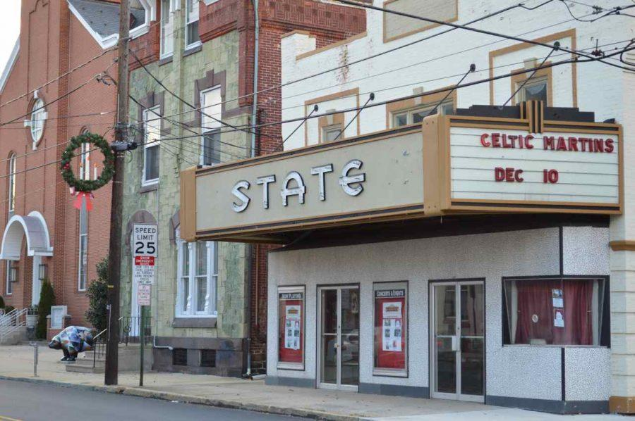 Art Students Promote Newly Reopened State Theatre
