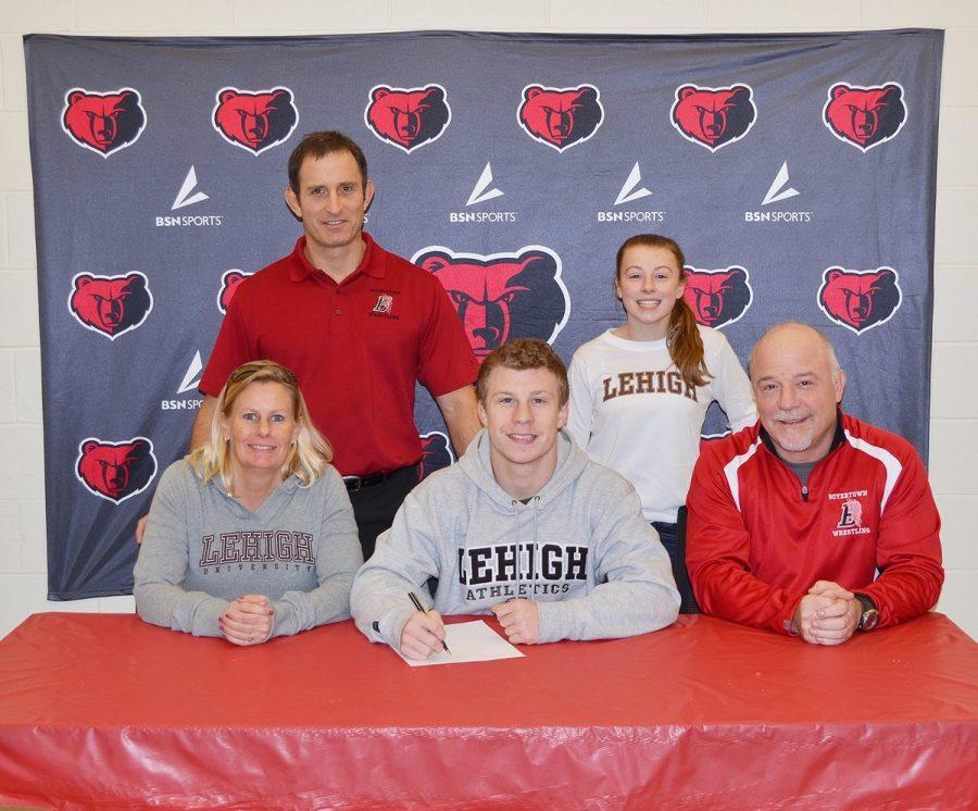 JT Cooley - Lehigh University - Wrestling