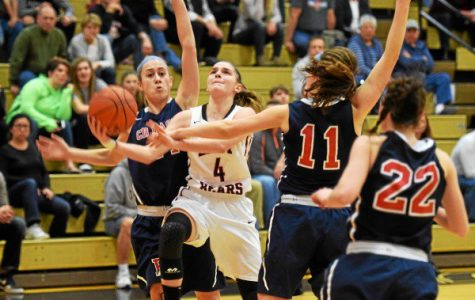 Boyertown's Victoria Boalton splits the defense in the Lady Bears' 46-30 win over Central Bucks East.