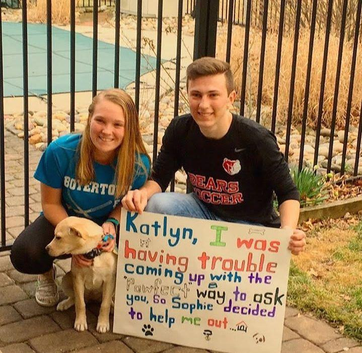 Posters Puns And Puppiesits Promposal Time Bash Cub