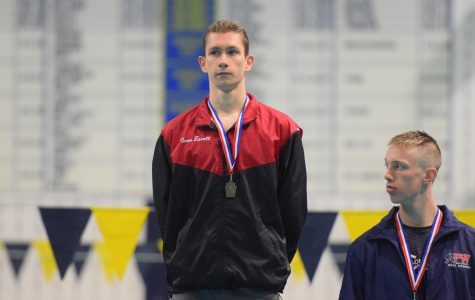Escott will look to transfer his Boyertown swimming success to the swim team at Eastern Illinois University next winter.