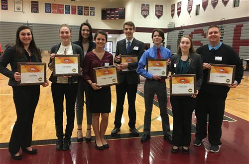 TSA Students Win Awards at States