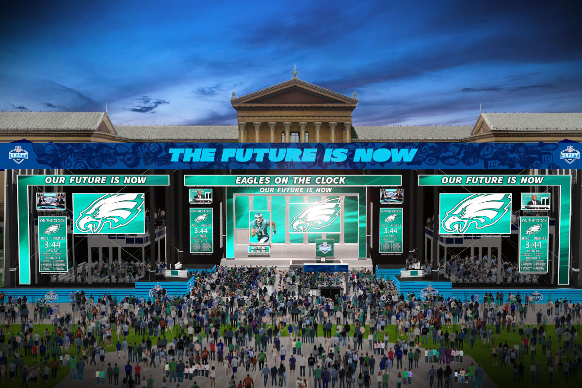 The 2017 NFL Draft was held in April in Philadelphia.