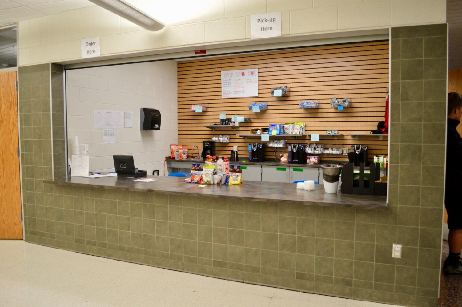 The School Store is one of the many places students have the opportunity to intern.