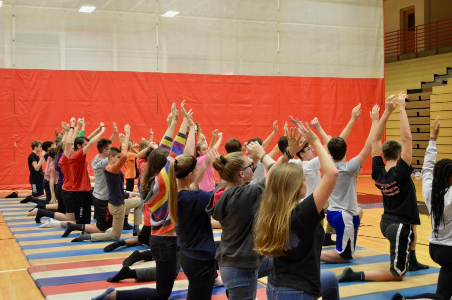 Students Become Yogis During Phys Ed