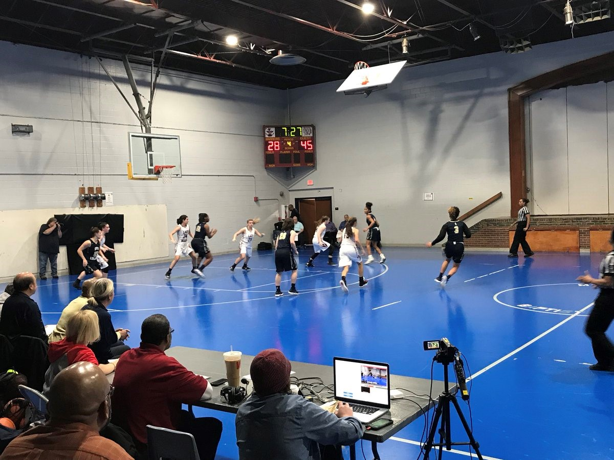 The girls basketball team played at a tournament in Washington D.C., where they lost both games.