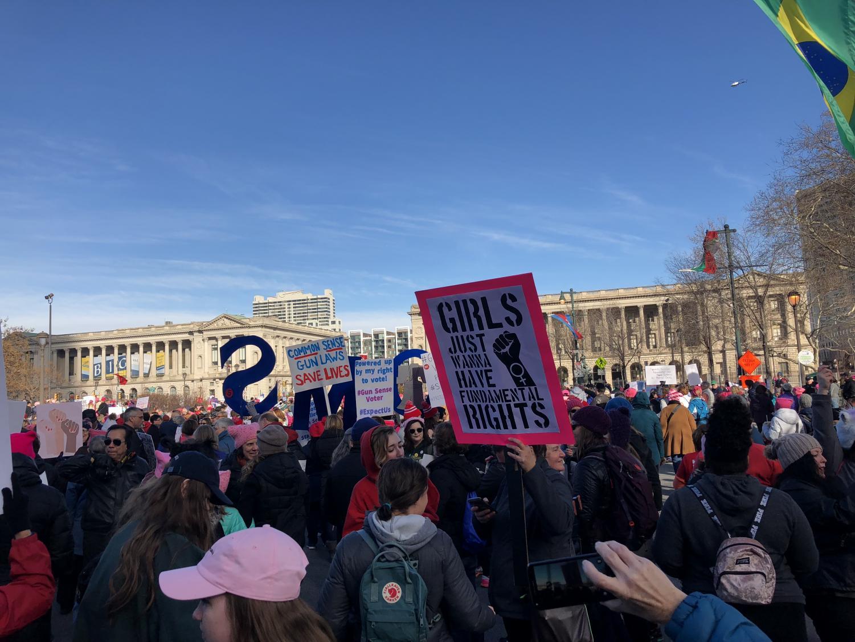 marchers