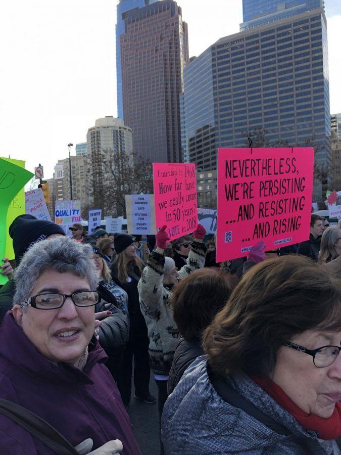 Marchers take on Philly Streets