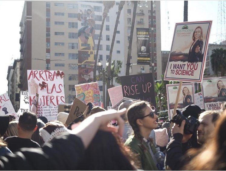 California Marchers