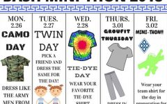 Spirit Week Aims to Psyche Up Students for Mini-THON