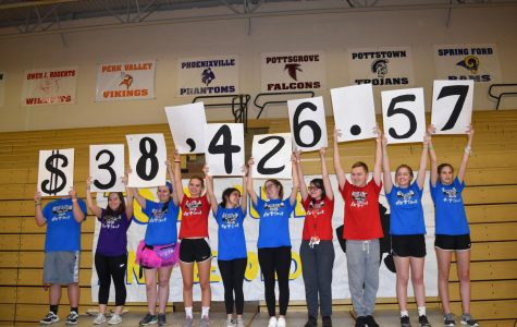 Smaller but Spirited Turnout for Rescheduled Mini-THON