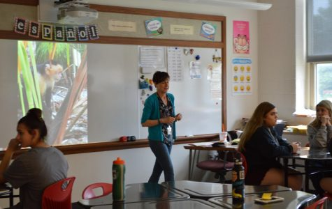 Spanish Teacher Mrs. Beck Says Adios to BASH