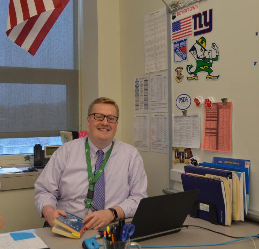 Mr. Brendan Dunne was hired this year as a Freshman English Teacher.