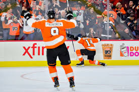 Simmonds and the Flyers Offense Torch Vegas for the Win