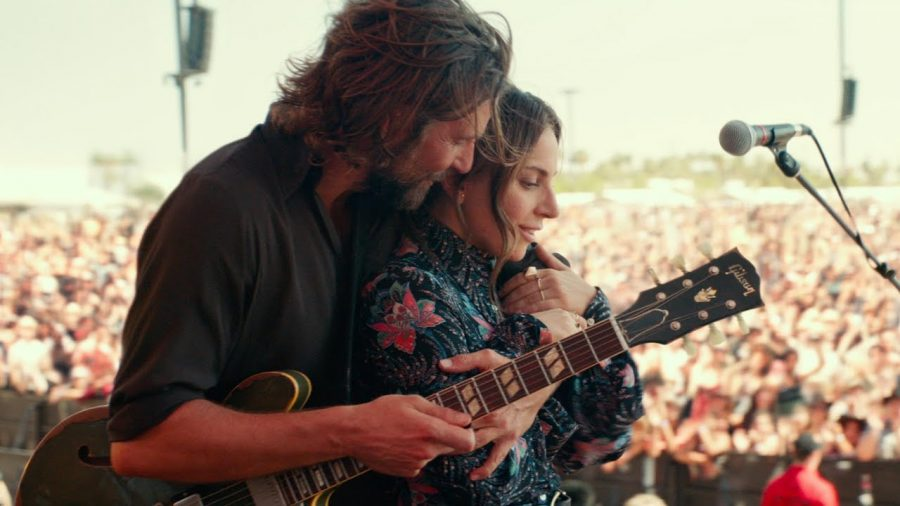 Bradley Cooper and Lady Gaga star in a remake of A Star is Born.