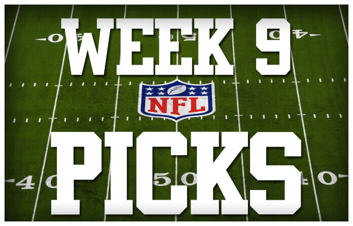 NFL+Week+9+Cub+Picks+of+the+Week