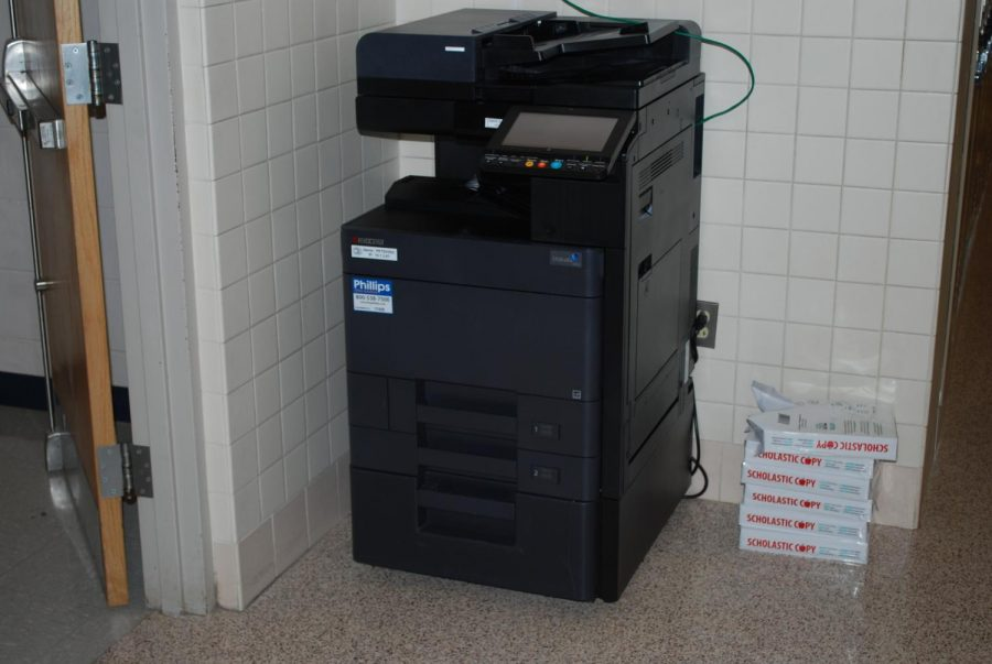 New copy machines were installed around BASH over the last few weeks.