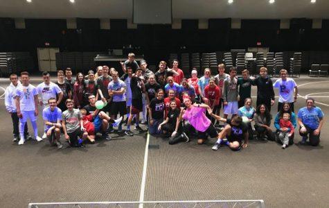 FCA Hosts Dodgeball Night