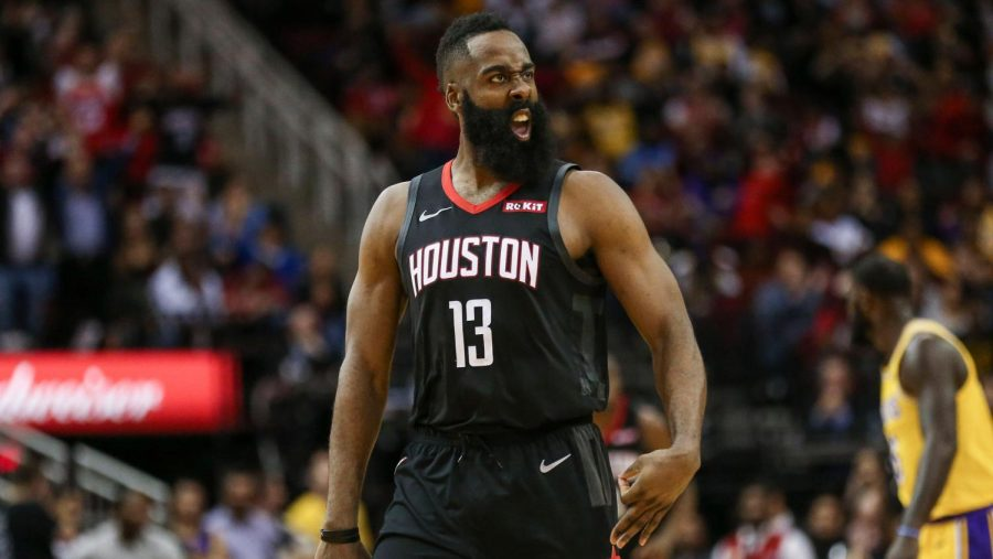James+Harden+Records+50+Point+Triple-Double%2C+Lifts+Rockets+Over+Lakers