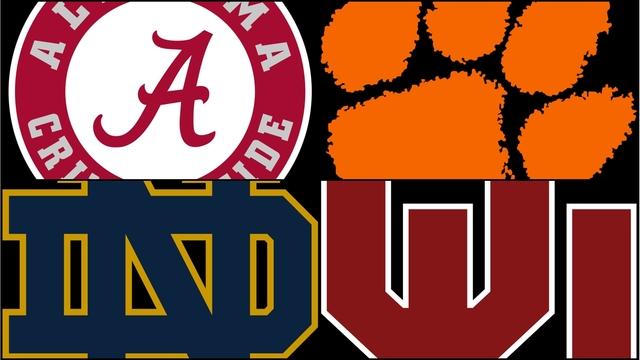 College+Football+Final+Four+Set
