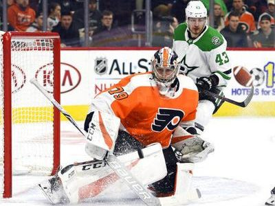 Flyers Finally Snap Losing Skid with 2-1 Win Over Dallas
