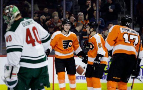 James van Riemsdyk's Hat-Trick Seals Flyers' Win