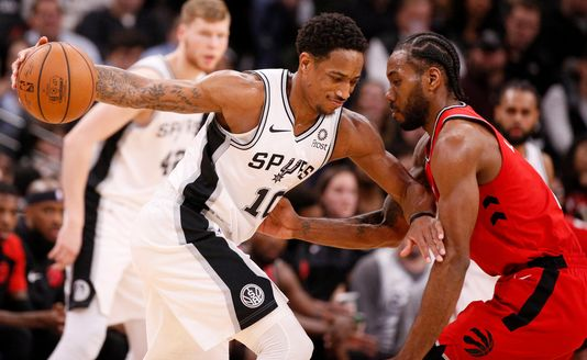 DeMar DeRozan Leads Spurs Over Former Team : Spoils Kawhi's Homecoming