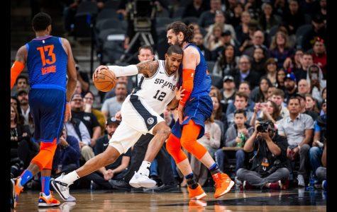 Spurs Lifted Behind Aldridges' Career Night, Defeat Thunder 154 – 147