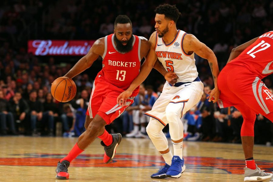Harden+Erupts+For+Career-High+61+At+MSG
